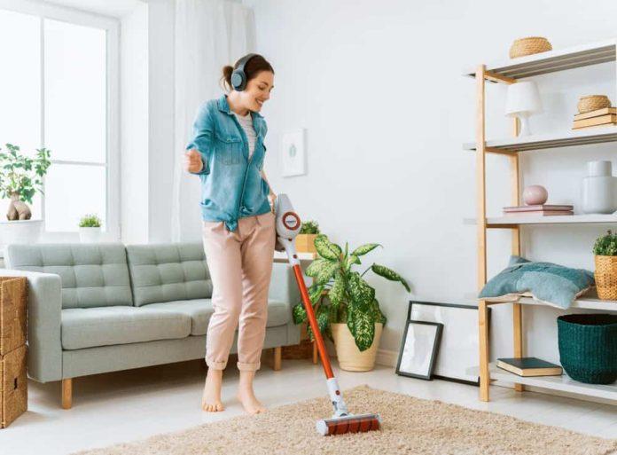 vacuum mop combo